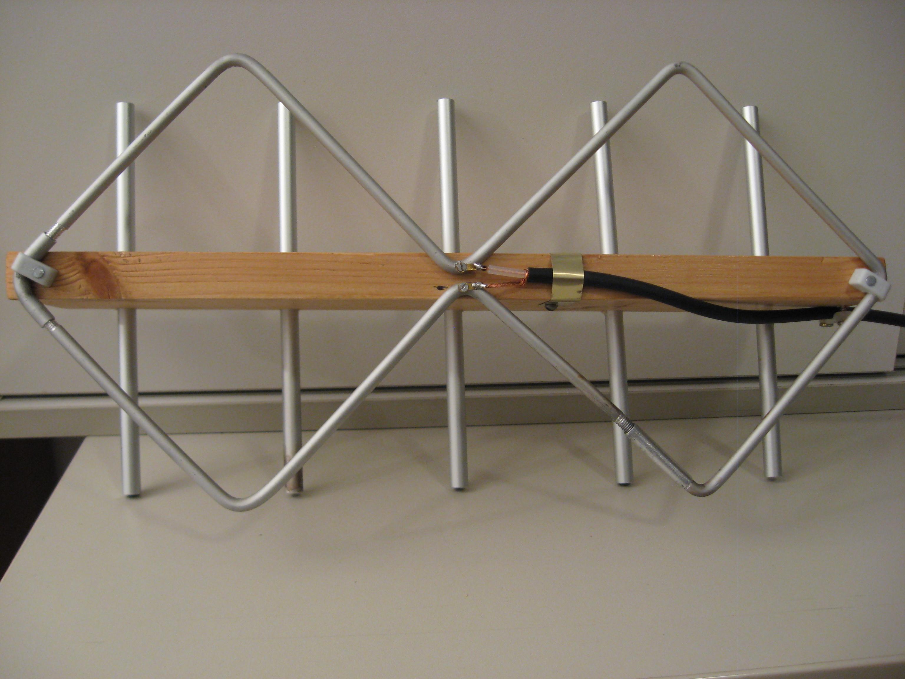 doppelquad antenne f r dvbt empfang. Black Bedroom Furniture Sets. Home Design Ideas